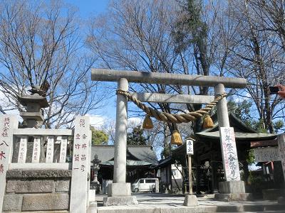 高城神社鳥居