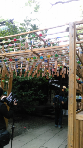 川越氷川神社風鈴