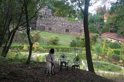 ロックハート城庭