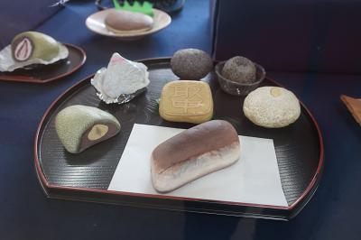 石ころアート和菓子
