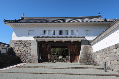 小田原城銅門