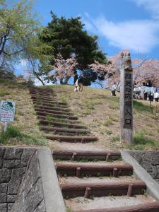 飯綱山公園歴史の広場入り口