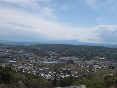 富士見城からの眺望