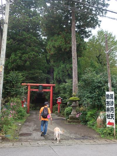 駒形神社鳥居